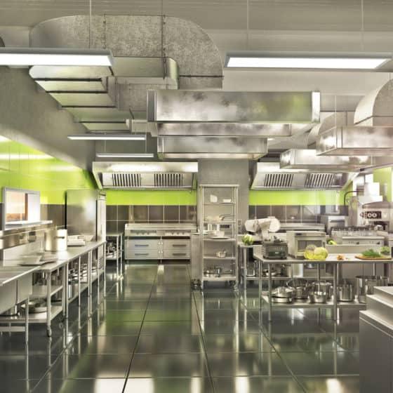 Küchenabluftreinigung